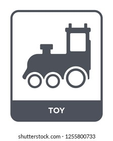 toy icon vector on white background, toy trendy filled icons from Kids and baby collection, toy simple element illustration