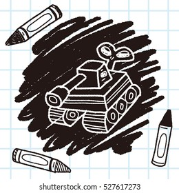 toy tank doodle