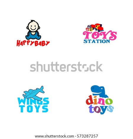 Toys Logo Vector Stock Vector Royalty Free 573287257 Shutterstock