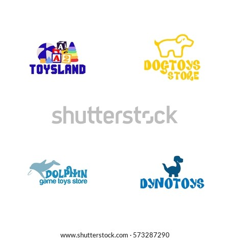 Toys Logo Vector Stock Vector Royalty Free 573287290 Shutterstock