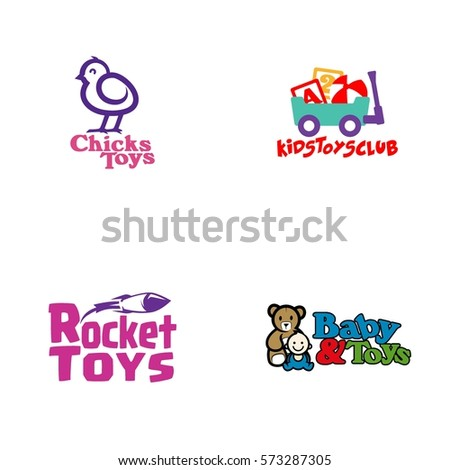 Toys Logo Vector Stock Vector Royalty Free 573287305 Shutterstock
