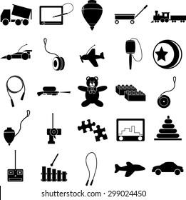 toys symbols set