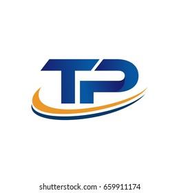 TP initial logo design