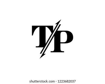 TP initials logo sliced