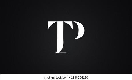 TP Letter Logo Design Template Vector
