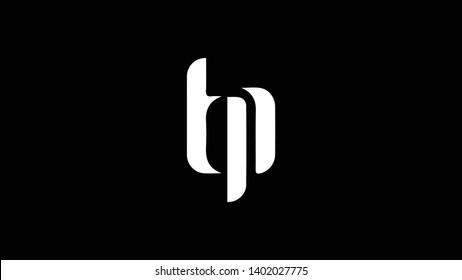 TP logo design template vector illustration minimal design