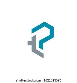 tp logo design vector template