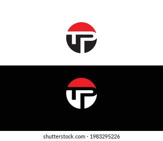 TP And PT Letter Logo Design Template Vector.