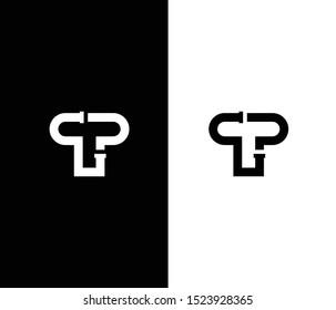 TP or TPG Logo monogram for plumbing business.