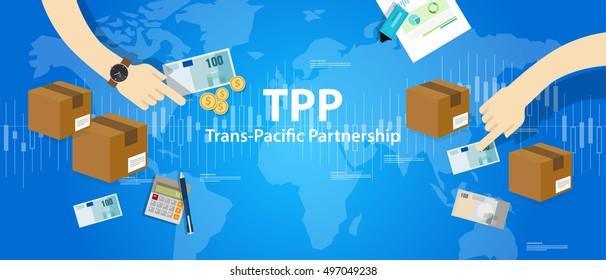 TPP Trans Pacific Partnership Agreement free market trade international
