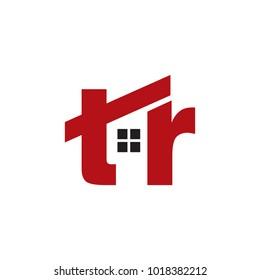 TR Homes Initial Logo