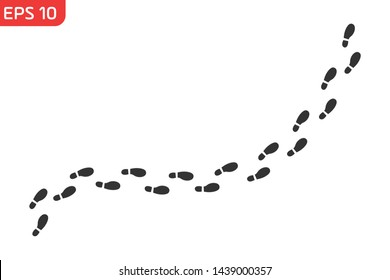 track footprints human shoes shoe sole funny feet footsteps paws people silhouette, route steps sign foot Walks Walking wallpaper banner poster footmark