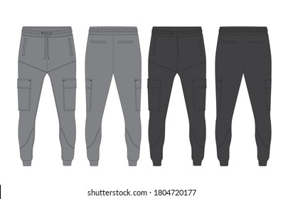 tracksuit sports item men and women color option with black  white fully editable file