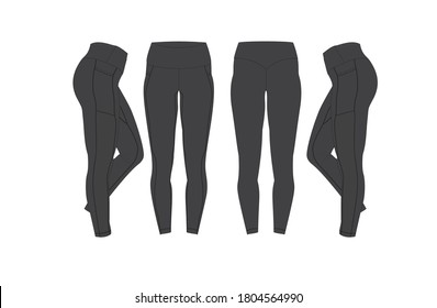tracksuits men and women with colors option fully editable format