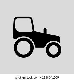 tracktor vector icons