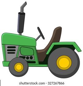 Cartoon Tractor Images Stock Photos Vectors Shutterstock