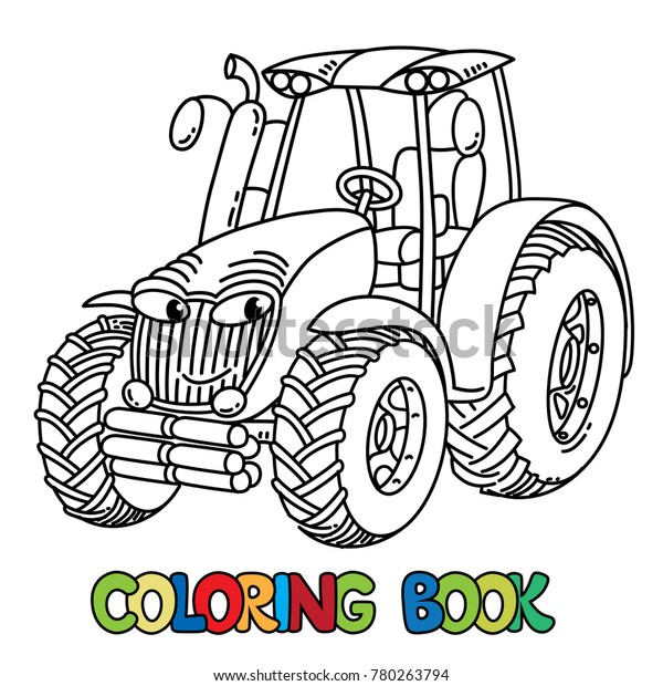 Images of Tractor Coloring Book - Sabadaphnecottage
