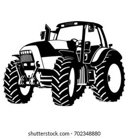 Tractor vector.