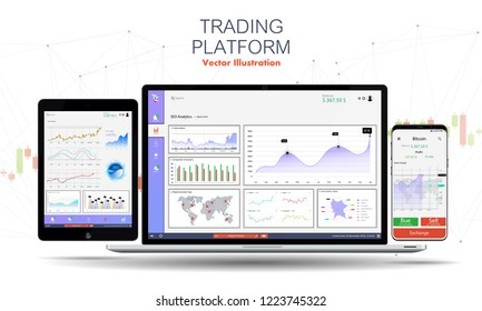 Trading Platform Images, Stock Photos & Vectors | Shutterstock