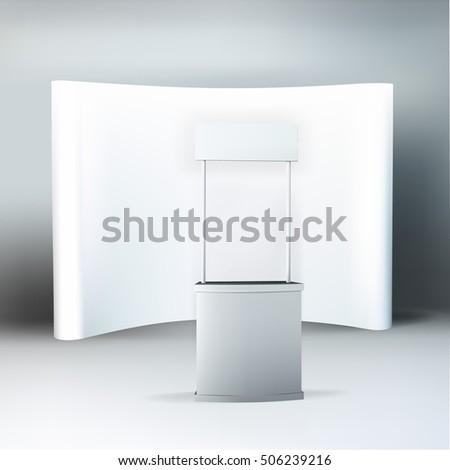 Trade Exhibition Stand Vector : Trade exhibition stand vector stock vector royalty free