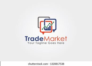 Trade Market Logo Template