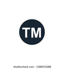 Trademark creative icon. From Entrepreneurship icons collection. Isolated Trademark sign on white background