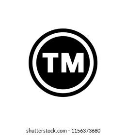 Trademark icon logo