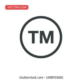 Trademark Register Symbol Icon Vector Illustration Design