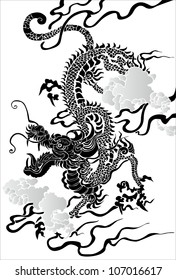 Tradition Asian Dragon