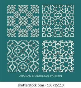 Traditional Arabian pattern.