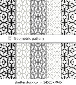Traditional Arabic geometric pattern for your design, laser cutting, stamping on leather, cardboard, paper. Interior design, graphic design. Drawing for sandblasting glass. Printing on fabric