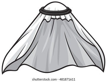 traditional arabic or muslim hat