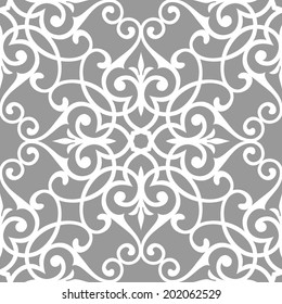 Traditional Arabic seamless pattern. Abstract background.