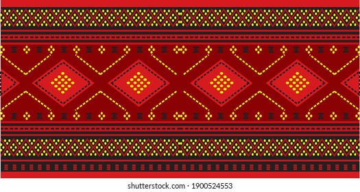The traditional Batak Toba cloth is called Ulos Batak, with a distinctive motif or pattern