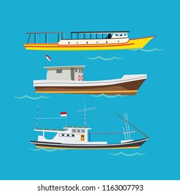 Traditional Boat vector