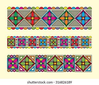 Traditional border design
