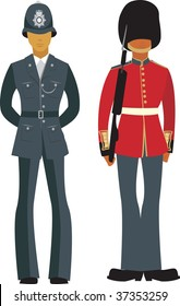 Traditional British Officers