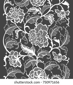 traditional Chinese ornament is made in lace style