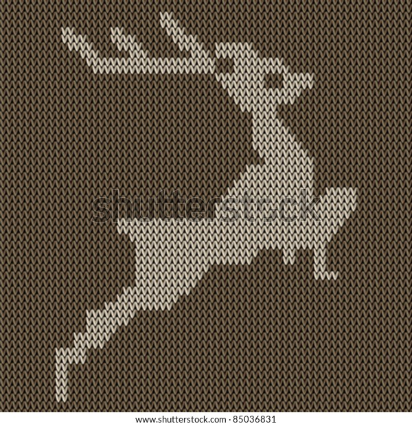 Christmas Embroidery Patterns Free.Traditional Christmas Embroidery Pattern Deer On Stock