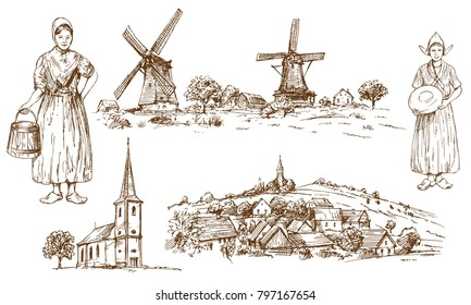 Traditional Costume Stock Illustrations, Images & Vectors | Shutterstock