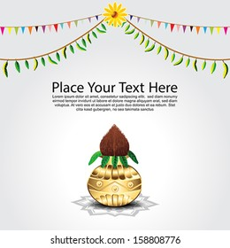 Traditional Festival Background Vector illustration
