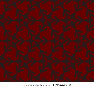 Traditional geometric seamless pattern for wallpaper, textile. Vector illustration