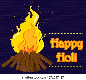 Traditional Holi background of India in vector