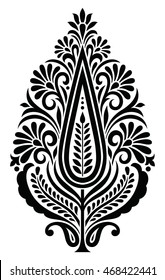 Traditional Indian motif