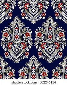 Traditional Indian Paisley pattern