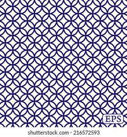 Traditional japanese pattern background