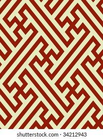 traditional Japanese saya (Greek fret or key) pattern
