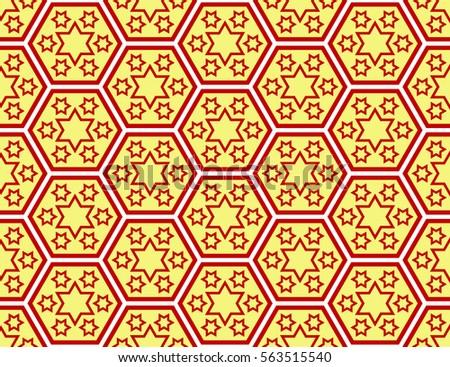 a00c26272f Traditional Japanese Style Sevendaysoftheweek Stars Pattern Stock Vector  (Royalty Free) 563515540 - Shutterstock