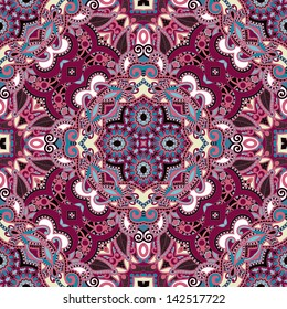 Traditional ornamental floral paisley bandanna. You can use this pattern in the design of carpet, shawl, pillow, cushion cushion