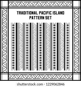 Traditional Pacific Island Pattern